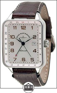 0c6fb58b078 Zeno-Watch Reloj Mujer - SQ Retro GMT (Dual Time) - 163GMT-f2 de ✿ Relojes  para hombre - (Lujo) ✿