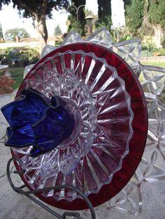 Glass Garden Art Flower Garden Glass Art Flower Glass Plate
