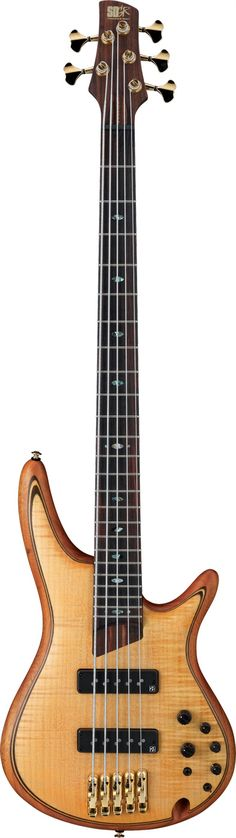#Ibanez SR1405E #Bass #Guitar  Really cool top, with multiple veneers visible because of routed edges.