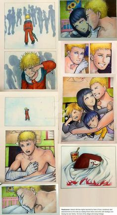 this is really sad and really accurate because Naruto will never be able to forget his past, yes he moved on and he used it to help people but this still is a good example of how much torment people can go through just from one bad incident. His dream has come true and he's not fully at peace mentally. And someone like him deserves better - think about this when you consider bullying someone or when you hear about it. It's important and it matters and it affects EVERYONE AROUND THE VICTIM…