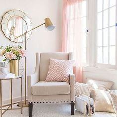 Luxury & Glam Chair and Living Room Nook Collection : Target Muebles Shabby Chic, Shabby Chic Chairs, Shabby Chic Interiors, Shabby Chic Bedrooms, Shabby Chic Homes, Shabby Chic Furniture, Shabby Chic Decor, Modern Furniture, House Furniture