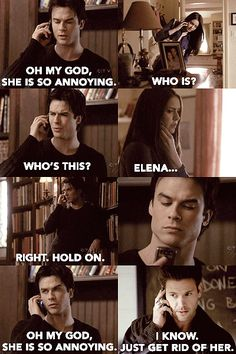 Vampire Diaries + Mean Girls