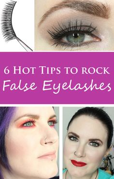 Phyrra shares 6 hot tips to rock false eyelashes. With just tweezers, scissors, a mirror, and these tips, you can easily apply falsies in a flash!