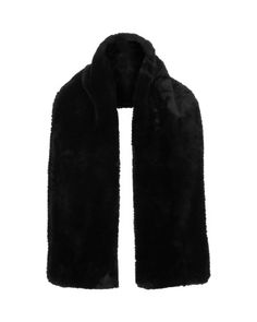 River Island | Black Faux Fur Scarf for Men | Lyst