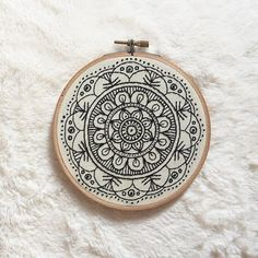 My favorite embroidery hoop ever!