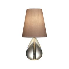 Jonathan Adler Claridge Mini Tear Drop Accent Lamp