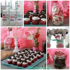 Milk and Cookies Birthday Party | Making Home Base