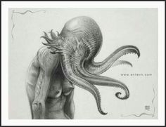 Cthulu octopus love