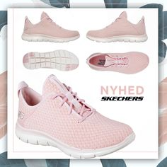 67b07c57139 Skechers Flex Appeal 2.0 Bold Move - Light Pink Super fleksibel træningssko  til damer fra Skechers
