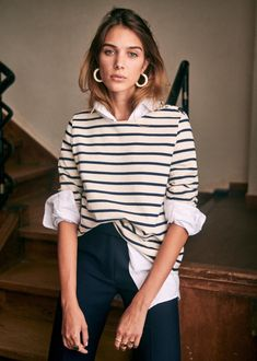 Mode Outfits, Casual Outfits, Fashion Outfits, Fashion Mode, Look Fashion, French Style Fashion, French Chic Style, Chic Fashion Style, Classic Womens Fashion