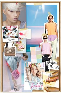 Love this pastel color palette for spring.