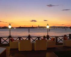 Villa Laguna Hotel Venice Terrace Sunset