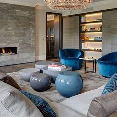 Knightsbridge Penthouse - contemporary - Living Room - London - Staffan Tollgard Design Group London Land Group