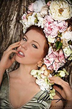 Floral Fairy Headdress - Ready to ship