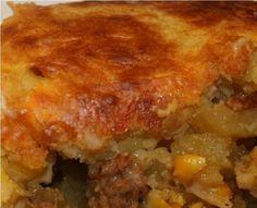 Sweet Italian sausage casserole recipe:  Like an easy and wonderful pot pie