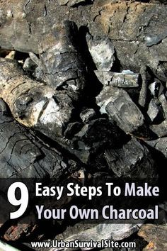 If you're living through a disaster, you can't just run to the store for charcoal. You'll need to make your own. Fortunately, it's not that hard to make.