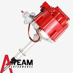New Chevy Late Inline SIX 6 Cylinder HEI Distributor 230 250 292 Red 65K Coil