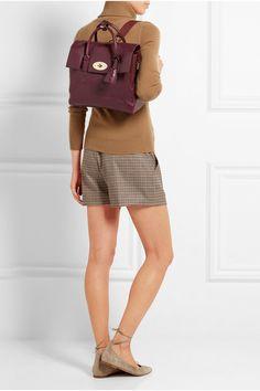 Mulberry | + Cara Delevingne medium leather backpack | NET-A-PORTER.COM