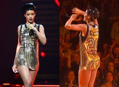 #Rihanna wears 'One Tree Hill' jersey on stage: Nathan Scott forever and ever!