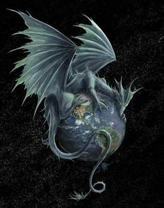 """Earth Dragon"" by Rob Carlos"