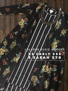 LuLaRoe Outfit Floral Sarah & Carly dress