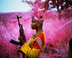Infrared photographs of Eastern Congo by Richard Mosse http://www.aperture.org/shop/books/infra-2426