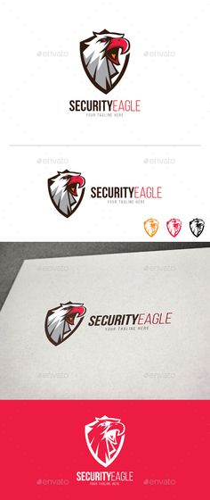 #Security Eagle - Animals #Logo Templates Download here: https://graphicriver.net/item/security-eagle/19651069?ref=alena994
