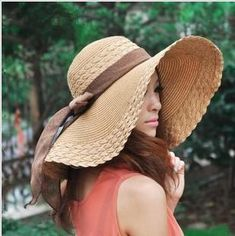 b8b248caa55 2017 Summer Beach Hot Sale Ladies Spring Summer Sun Straw Hat Cheap Sale  Fashion Accessories Beach Hat Holiday For Women Young Girls Hat Flat Bill  Hats ...