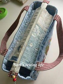 Sam's sewing life: 房屋托特包