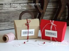 Stampin' Up! Home Sweet Home Video Tutorial - Stamping With Val