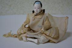 Japanese Hina doll, vintage Japanese ningyo, early Showa period by StyledinJapan on Etsy