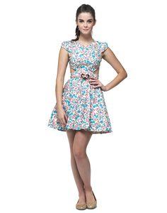Vestido Floral | Vestuário | Antix Store