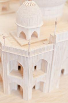 Matchstick model - Taj Mahal