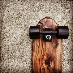 Black on #black on #walnut #skateboard six72woodworks.com