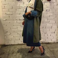 """401 Likes, 16 Comments - Book of Fashion (@onlykuwaitygirls) on Instagram: """"يمين ولا يسار ؟ ستايل للمحجبات للعيد"""""""