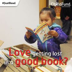 Love getting lost in a good Was for as a the reason you love reading now? Tell us your story! Helping Children, Love Reading, Your Story, Lost, Books, Fun, Livros, Livres, Book
