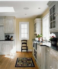 Orlean   Traditional   Kitchen   Dc Metro   Sroka Design, Inc. Whitewashed  Cabinets ...