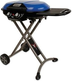 Rule the campground when you fire up some tasty meals with this roll-able, easy to transport propane grill.