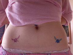 My Zelda Tattoos - Tael and Navi by ~spacemonkeysunited on deviantART