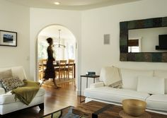 Los Angeles Area Homes contemporary living room