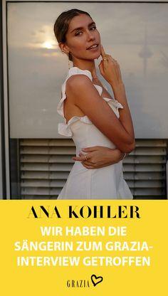 """Wir haben Sängerin und Model Ana Kohler zum großen GRAZIA Interview getroffen und mehr über ihre neue Singel """"Karma is a Bitch"""", ihre Inspiration und liebsten Beauty-Produkte gesprochen… #grazia #grazia_magazin #interview #anakohler"""