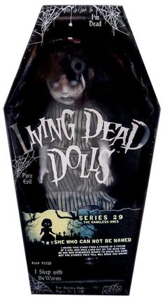 Living Dead Dolls Series 29 The Nameless Ones She Who Cannot Be Named 10.5-Inch Doll