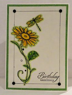 Fun With Ink: Simple Birthday Card