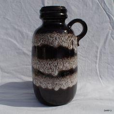 Vintage West German Scheurich Lava Pottery Jug Vase ... by darp3, £20.00