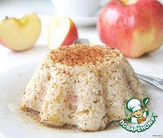 Творожно-яблочное суфле - кулинарный рецепт
