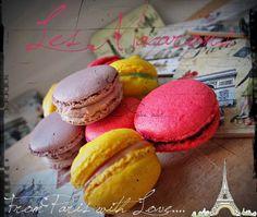 Macaron al cioccolato e rhum - http://valycakeand.blogspot.it/2013/11/macaron-al-cioccolato-e-rhum.html
