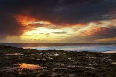 Carcavelos Beach Sunset