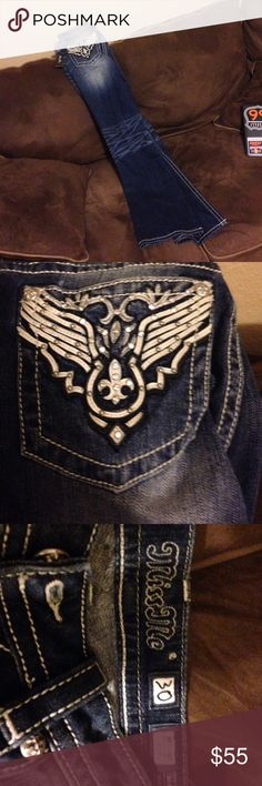 Miss Me bootcut jeans. Never worn Brand new!!!! Size 30 Inseam 34!!! Miss Me Jeans Boot Cut