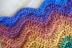 How To Crochet Ripple Afghan aka Wave or Ripple