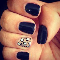 my nails: accent nail